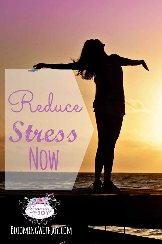 how to reduce stress now